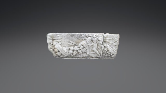 Roman (?) Bas-relief 3D Model