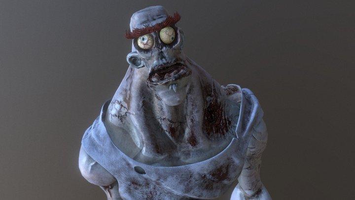 Sketchfab Texturing Challenge: Zombie 3D Model