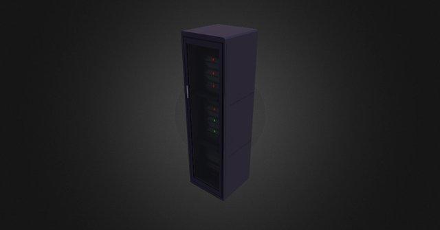Server 3D Model