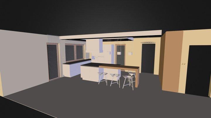 Kuchnia.3ds 3D Model