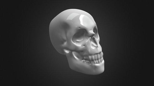SKULL KEYCHAIN 3D Model