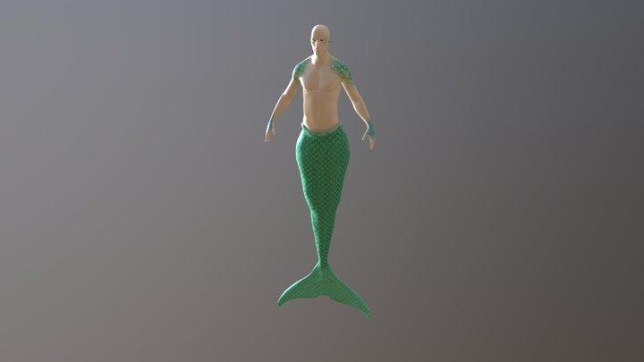 Triton 3D Model