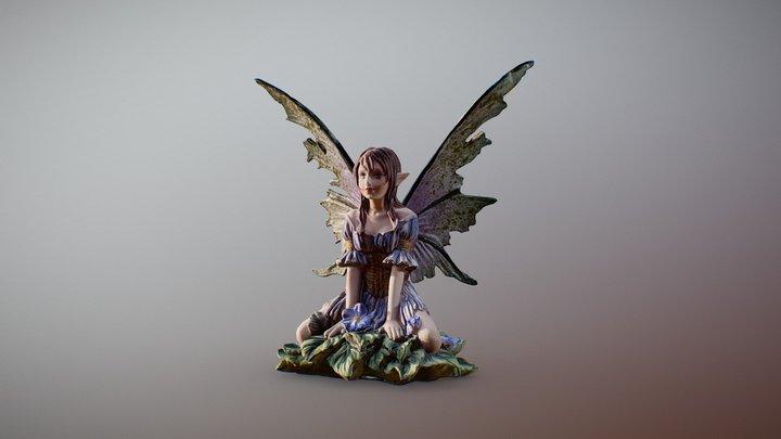 Wild Fantasy Fairy 3D Model
