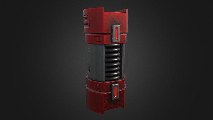 Mech Rev - Power Cell 3D Model