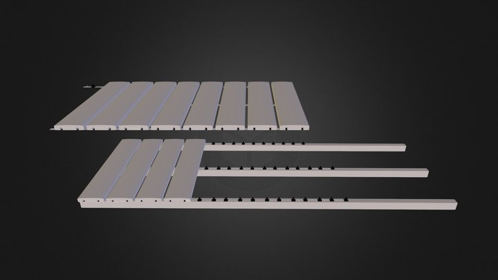 fixation dalles.dae 3D Model