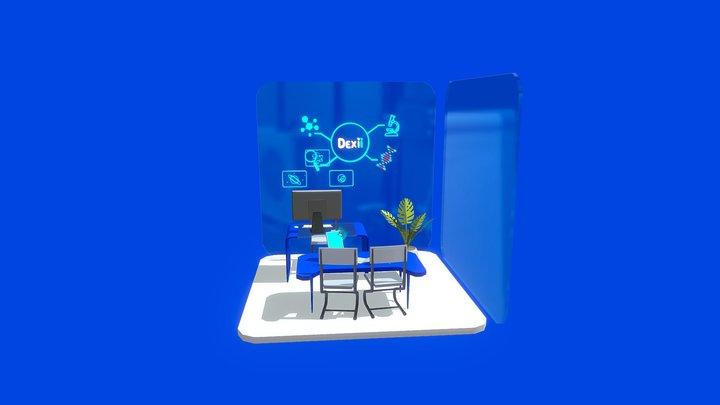 Smart Classroom 3D Model