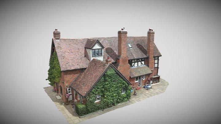 house simplified_3d_mesh 3D Model
