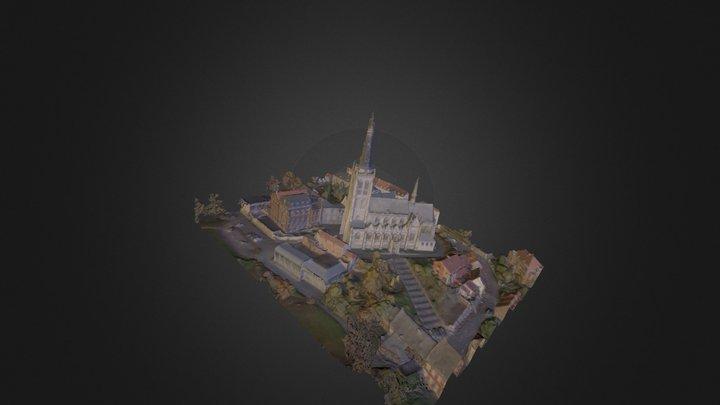 Alsemberg_POI_mesh_laag 3D Model