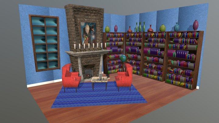 Salon 3D Model