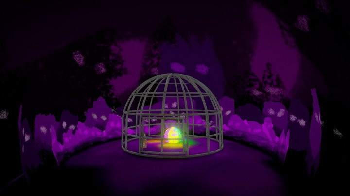 The cage Test 3D Model