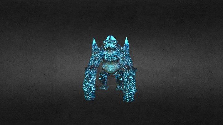 KaijuLowTest 3D Model