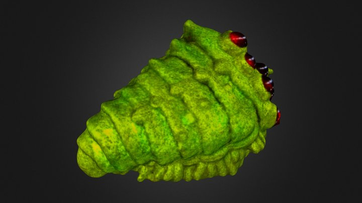 王蟲 3D Model