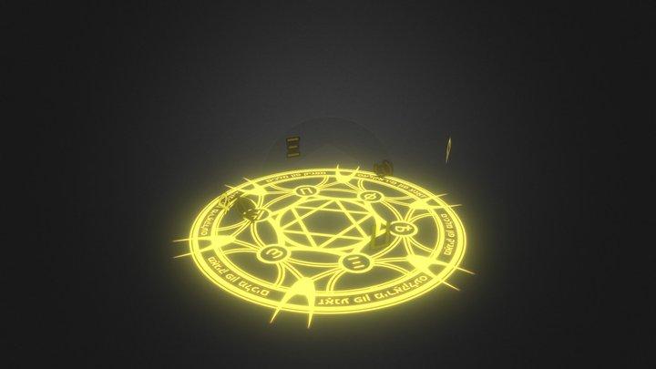 Magic Ring - Yellow 3D Model