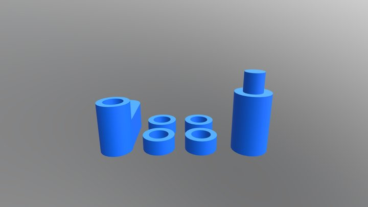 Components for gearbox 3D Model