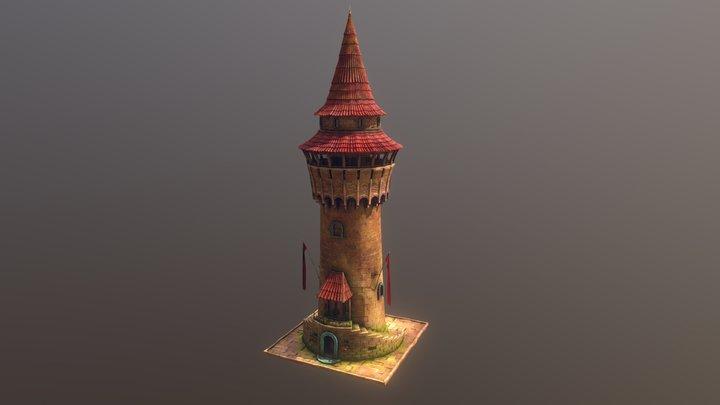 Watch Tower 3D Model