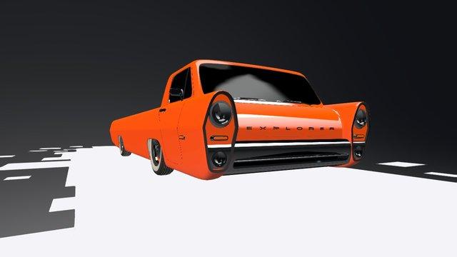 Explorer 3D Model