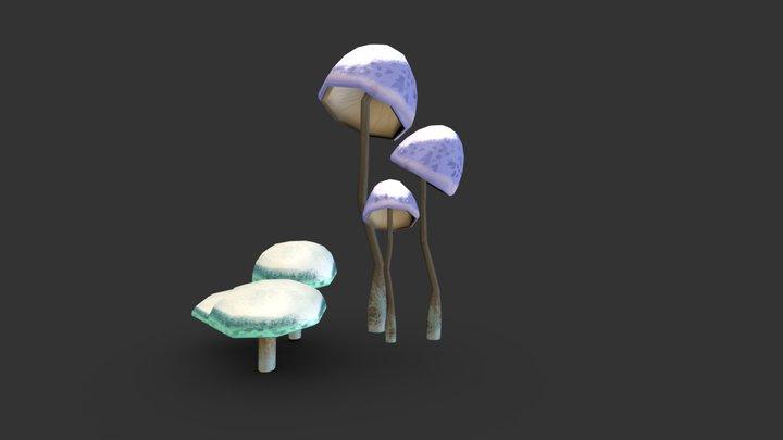 Shrooms 3D Model