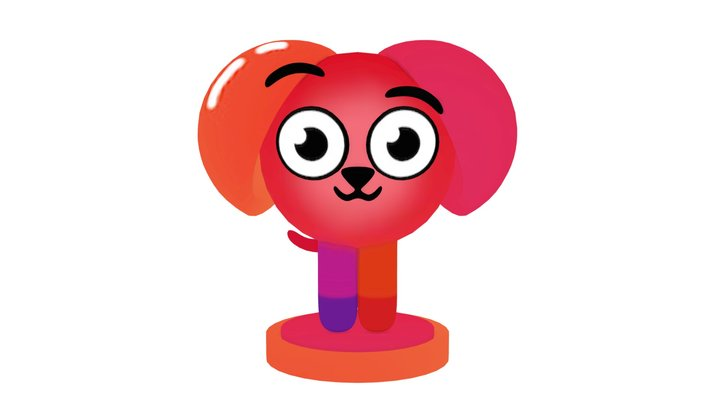Devo Dog Multimedia 3D Model