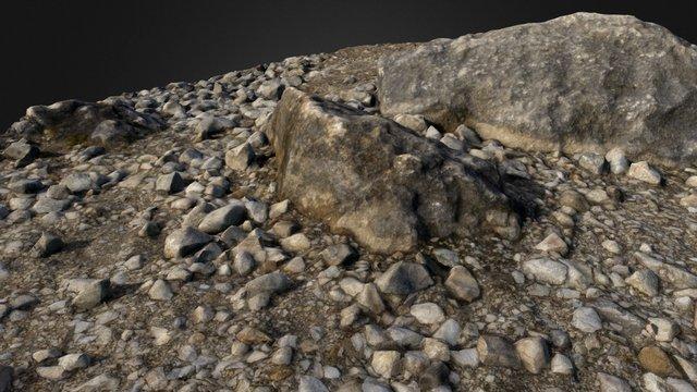 Gravel 3D Model