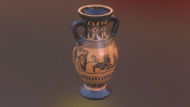 Rome: Fantasy Pack I - Roman Pot 3D Model