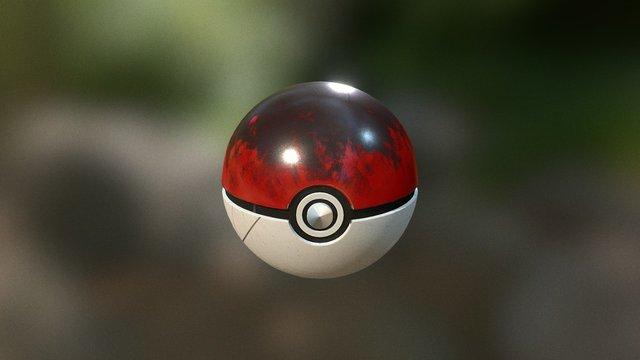 PokeBall TEST 3D Model
