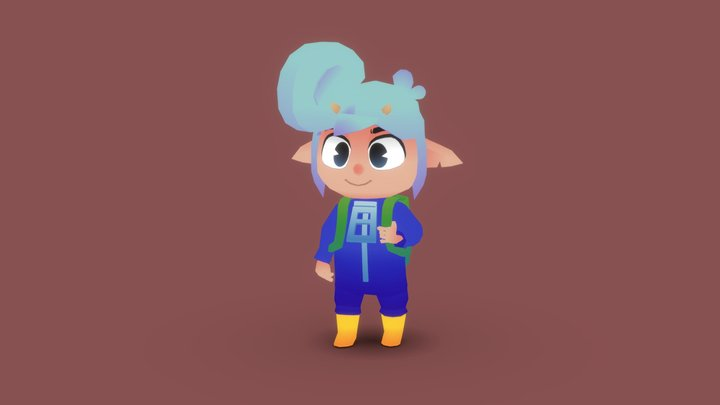 Kidd the Satyr 3D Model