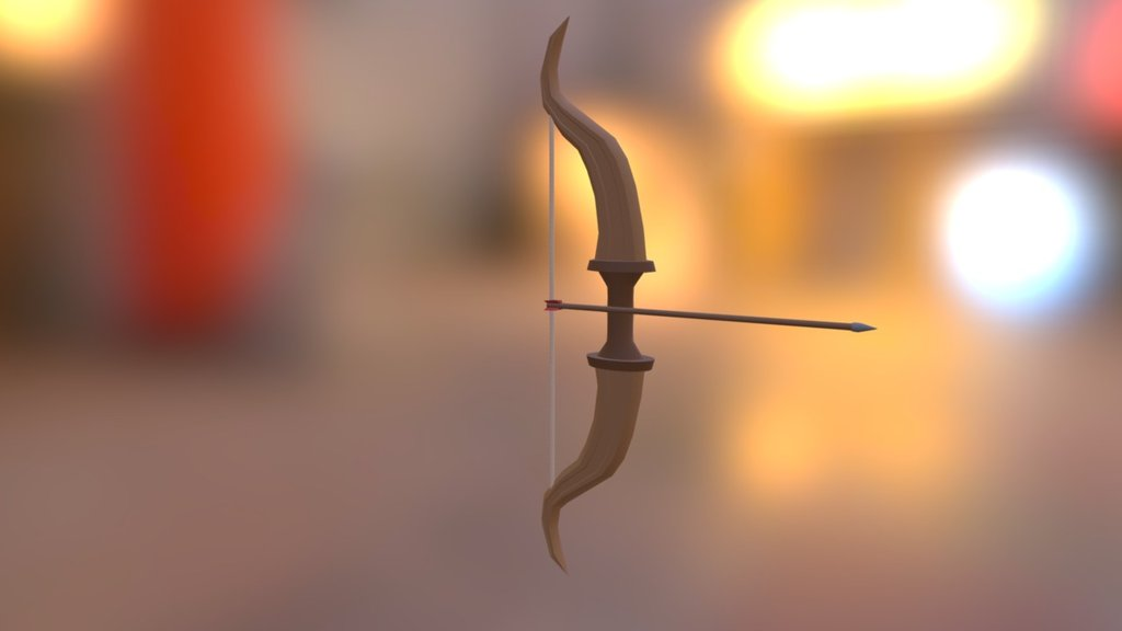 Bow and Arrow (Rigged) (Free Download) - Download Free 3D