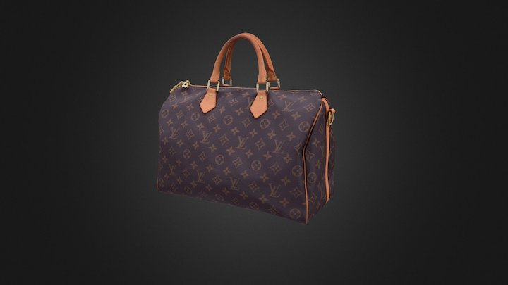 Louisvuitton Bag 3D Model