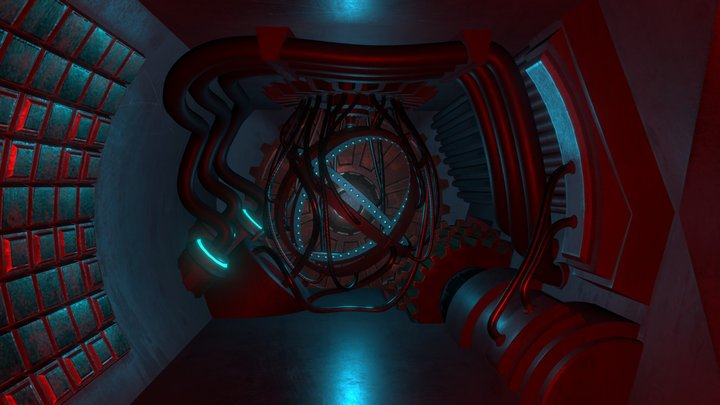 The Cosmotic Mission - Engineering Bay 3D Model