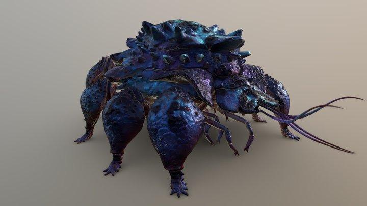 RCA 3D/ creature 11 3D Model