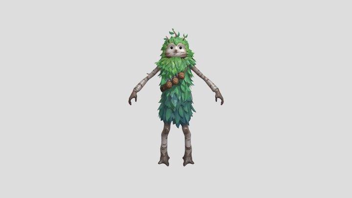 Fortnite Skins 🌲 Bushranger Outfit 3D Model