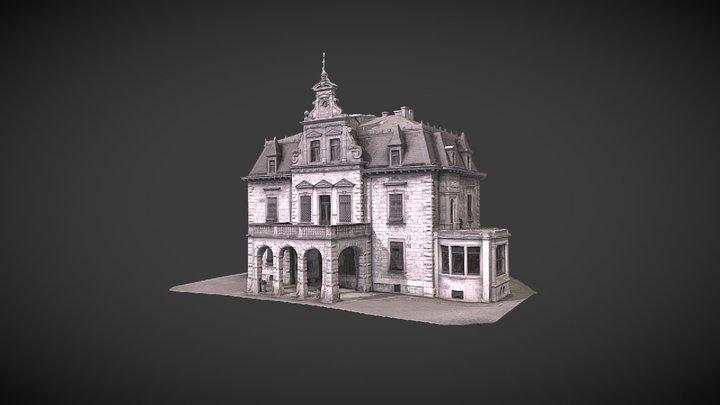 Villa Haar 3D 3D Model