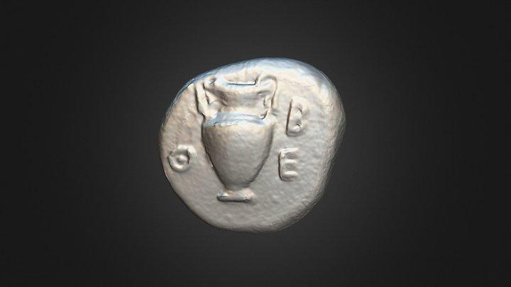 Theban coin (C3244) 3D Model