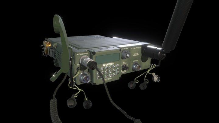 117F Radio 3D Model