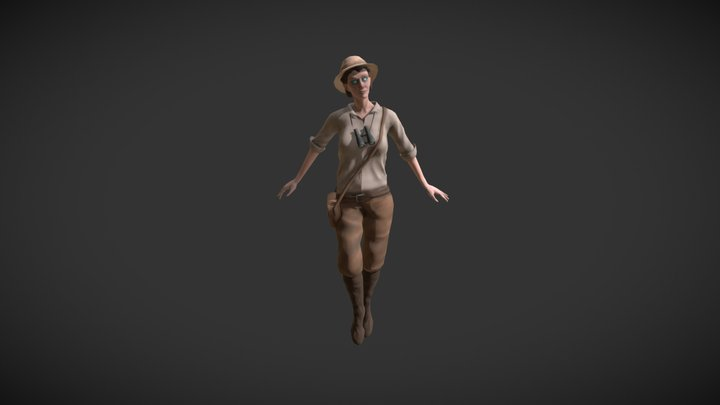 possessed explorer 3D Model