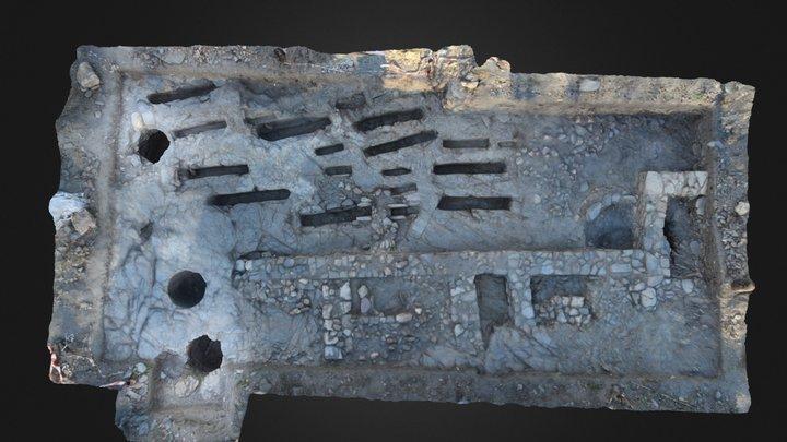 Final archaeological plan- Lanteira 2014 3D Model