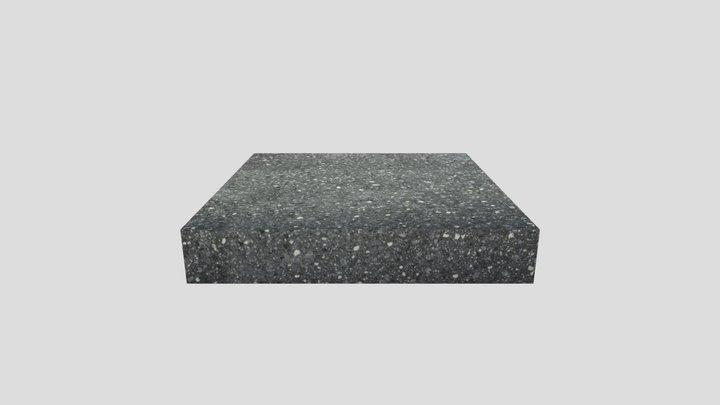 Ground (Shelbourne) Black Granite 3D Model