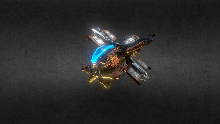 BastarZ BattleZ : Carrier 1 3D Model