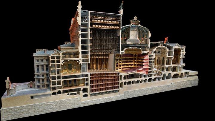 Opéra de Paris 3D Model