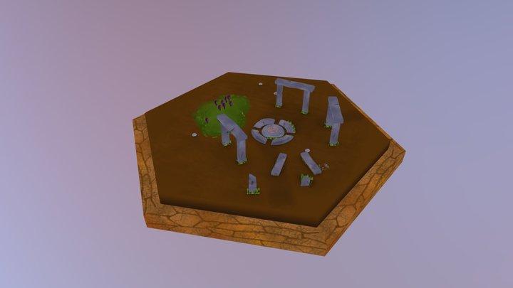 6. Rocky Ruins 3D Model