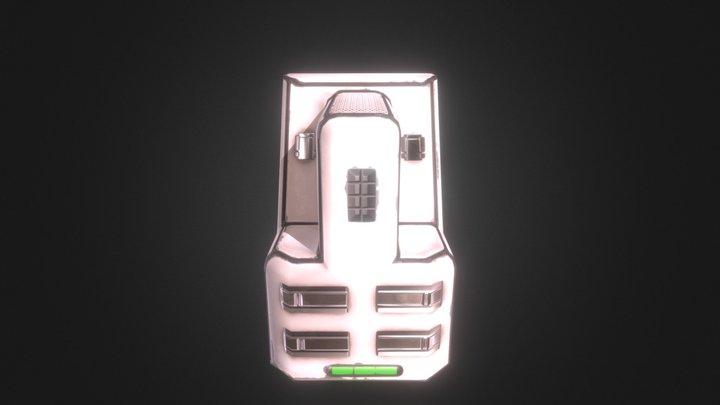 Cpu 3D Model