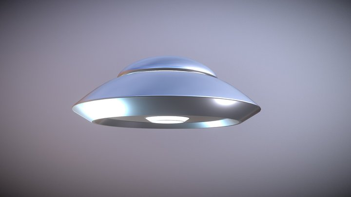 UFO_B11 D Model 3D Model