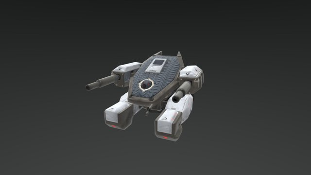 Drone Low 3D Model