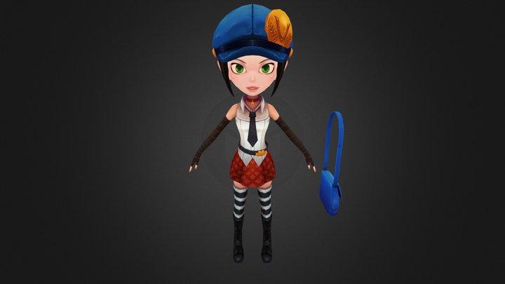 Marie All Wip 01 3D Model