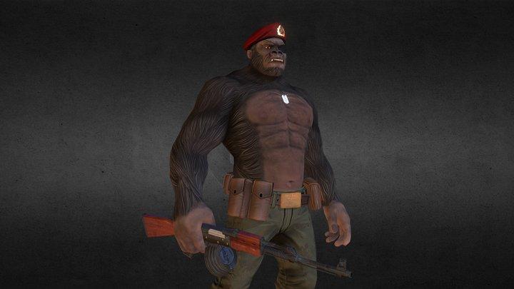 Obezyana Beast of the Motherland 3D Model