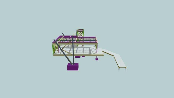 Escola Divina Providência 3D Model