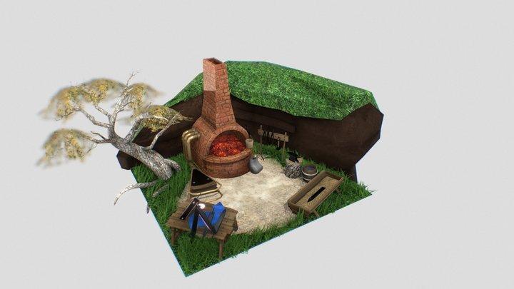 Blacksmith Asset 3D Model