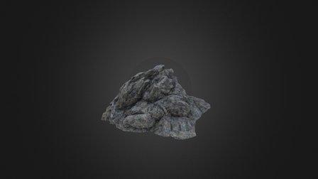 Rock formation for games 3D Model