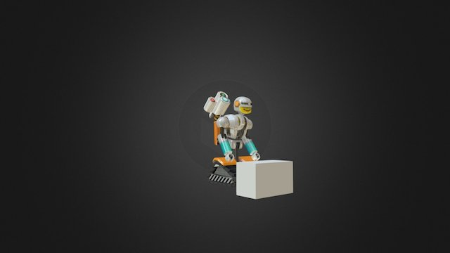 Robbie from Robot Shool 3D Model