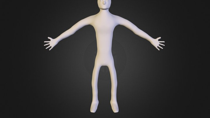 Character Template 3D Model